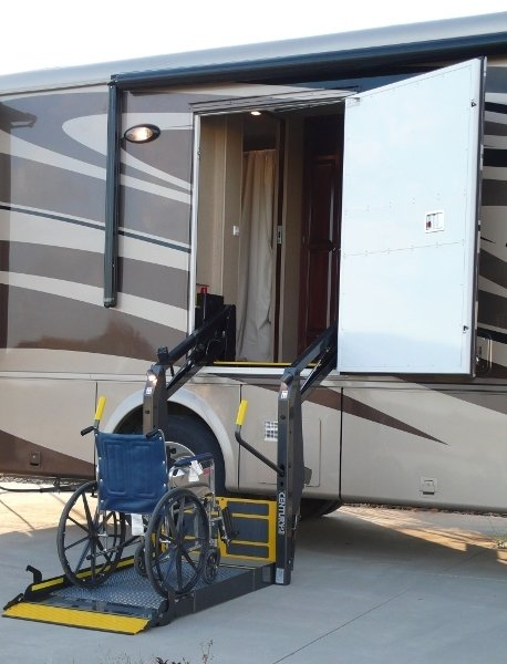 Wheelchair accessible motorhomes Handicapped accessible homes for sale