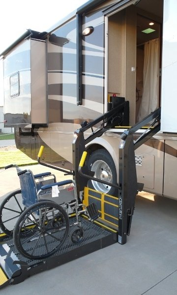 Wheelchair accessible motorhomes Handicap wheelchair