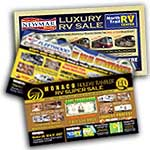 RV consignment direct mail advertising