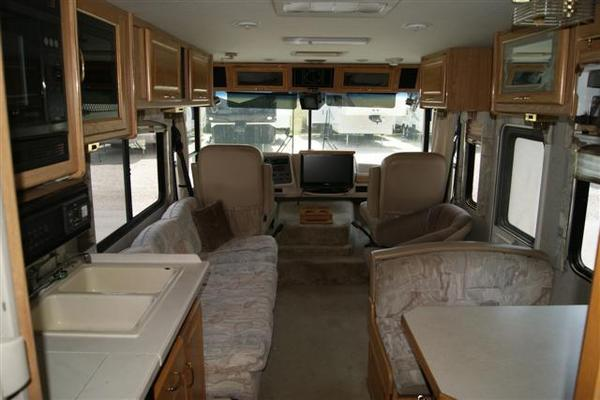 1998 National Rv Seabreeze 33 Class A Gas Motorhome Stock