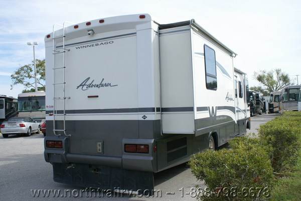 Innovative 2005 Winnebago Adventurer 33V Class A Gas Motorhome Stock