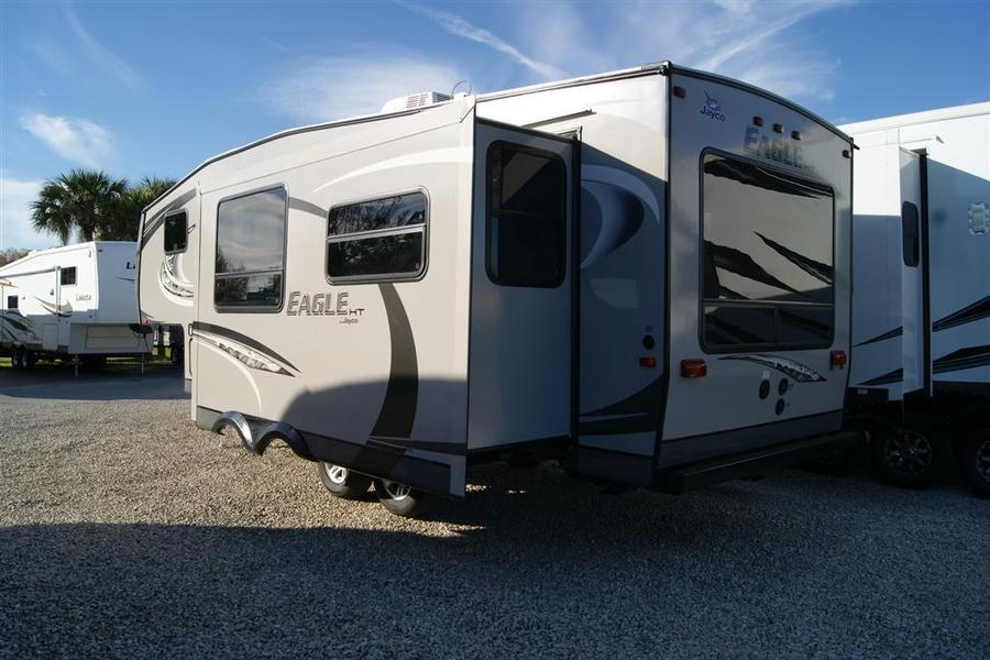 Simple 2013 Jayco Eagle 265RLS Fifth Wheel Stock 7279