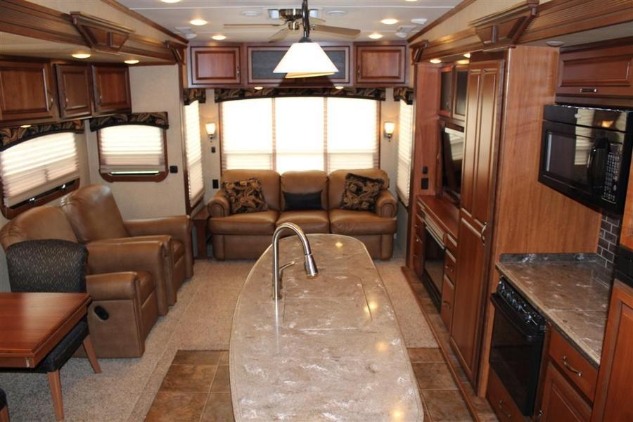 2012 Thor Motor Coach Redwood 36fb Fifth Wheel Stock