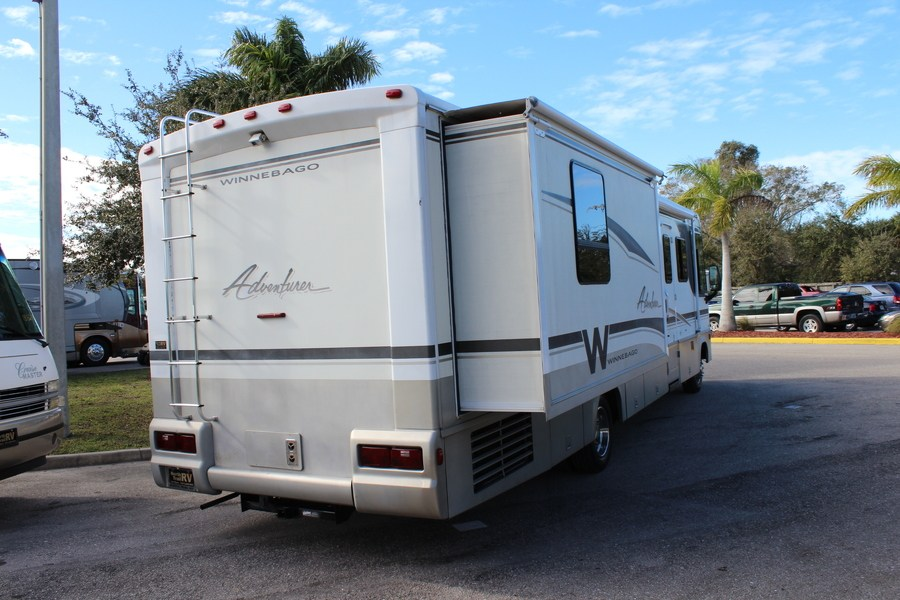 Model 2006 Winnebago Adventurer 35A Class A Gas Motorhome Stock