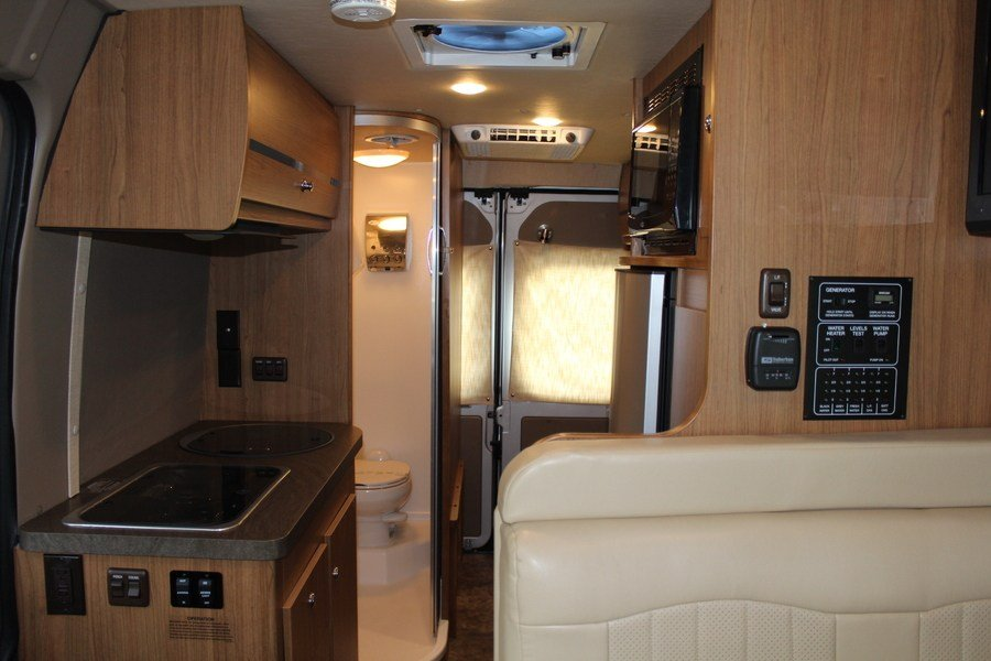 2014 winnebago travato 56g class b motorhome  stock  7886
