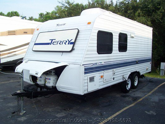 1998 Fleetwood Terry 19ln Travel Trailer  Stock  4061