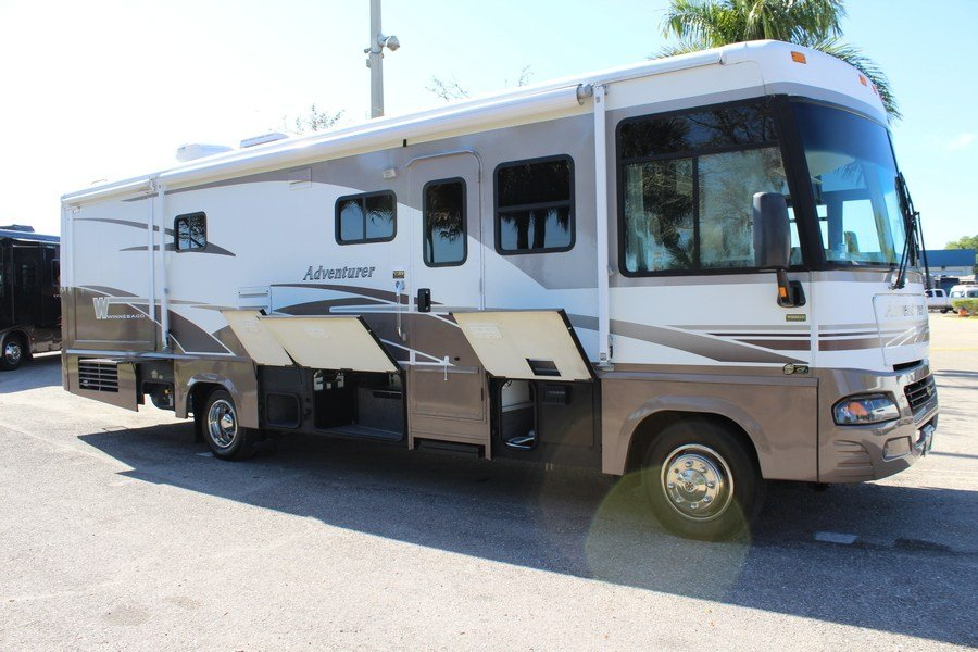 Popular 2013 Winnebago Adventurer 37F Class A Gas Motorhome Stock