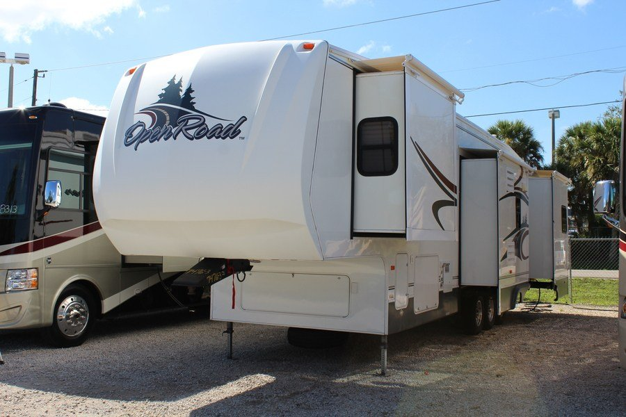 Open Road Fifth Wheel Floor Plans: 2006 Pilgrim Open Road 396 RD-4S-5 Fifth Wheel (Stock# 7476-3