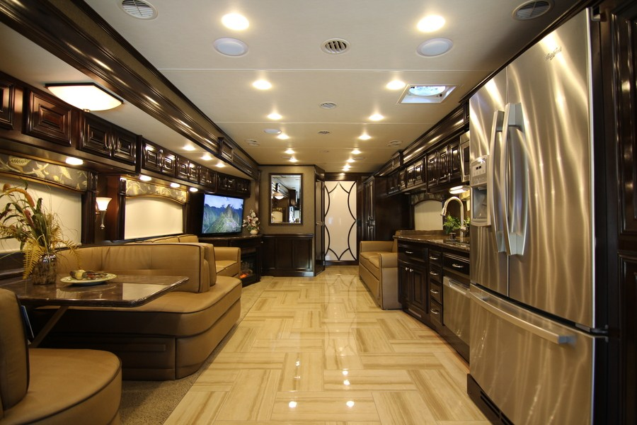 2015 Thor Tuscany 44mt Class A Diesel Motorhome Stock 8412