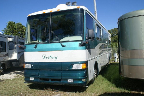 1995 38 Coachmen Destiny 380 Class A Diesel Motorhome (Stock# 4160-3)