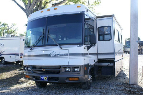 Unique 2006 Winnebago Adventurer 35A Class A Gas Motorhome Stock