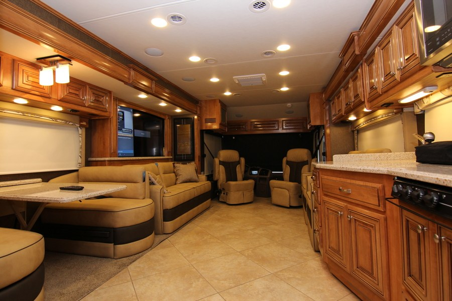 2015 Thor Tuscany Xte 40ax Class A Diesel Motorhome Stock