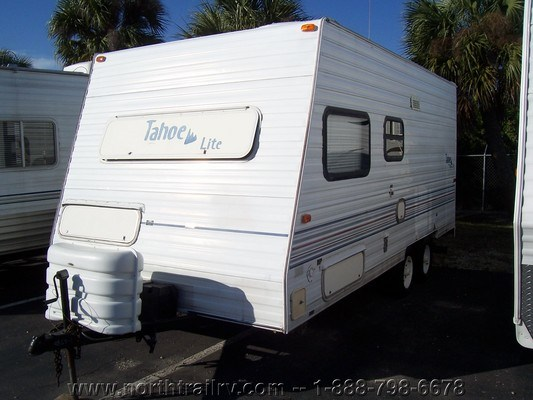 1997 Thor Tahoe 19rb Travel Trailer Stock 4865 1