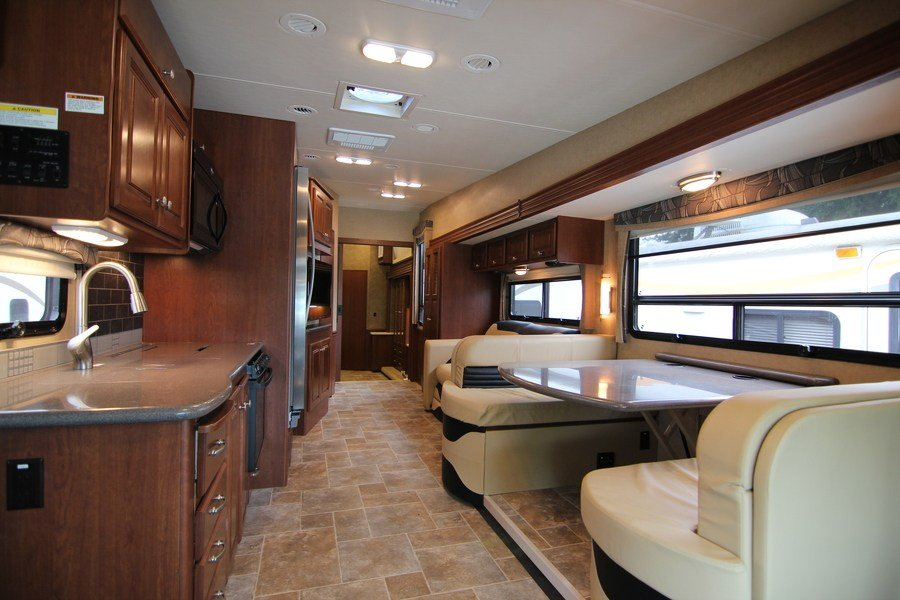2015 Thor Outlaw 38re Class A Gas Toyhauler Stock 8974 1