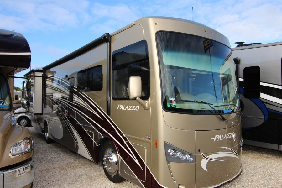 2016 thor palazzo 33 3 class a diesel motorhome stock 9298 for Class a diesel motor homes