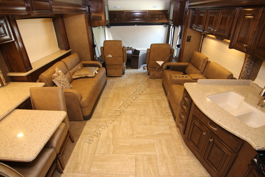 2017 Thor Tuscany Xte 40ax Class A Diesel Motorhome Stock