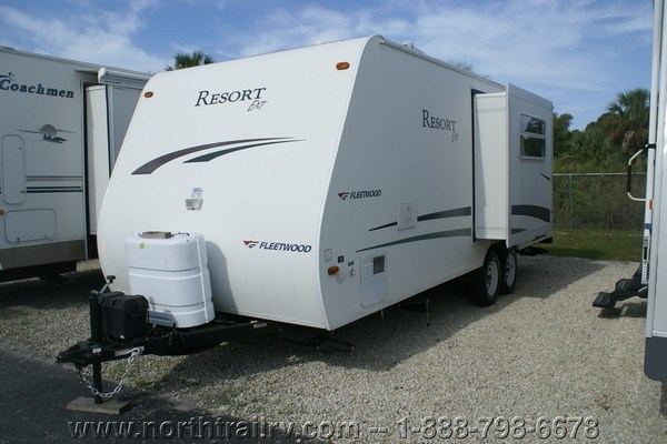 2005 Fleetwood Resort 25bhs Travel Trailer Stock 4857 2