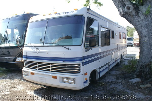 Perfect 1992 Damon Challenger 32 Class A Gas Motorhome Stock