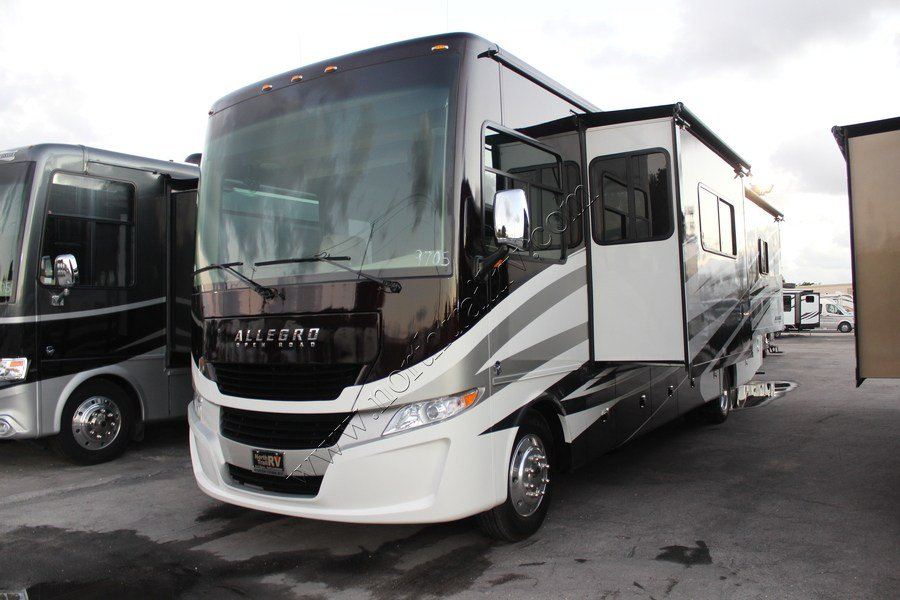 Perfect 2017 Tiffin Allegro 34PA Class A Gas Motorhome Stock 9705