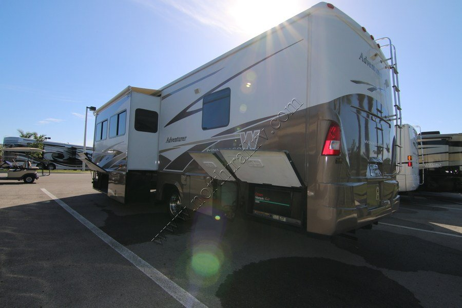 Innovative 2001 Winnebago Adventurer 37 Class A Gas Motorhome Stock