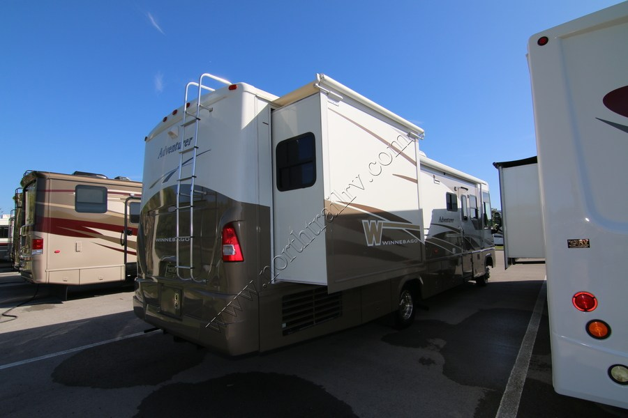 Lastest 2001 Winnebago Adventurer 35U Class A Gas Motorhome Stock